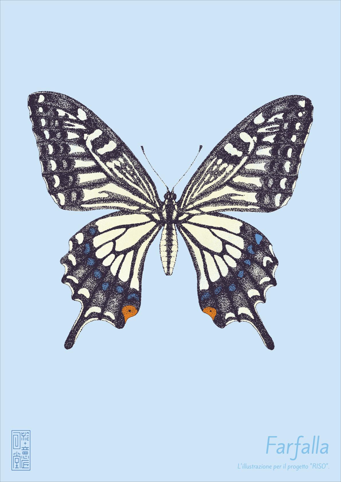 ポスター「蝶」