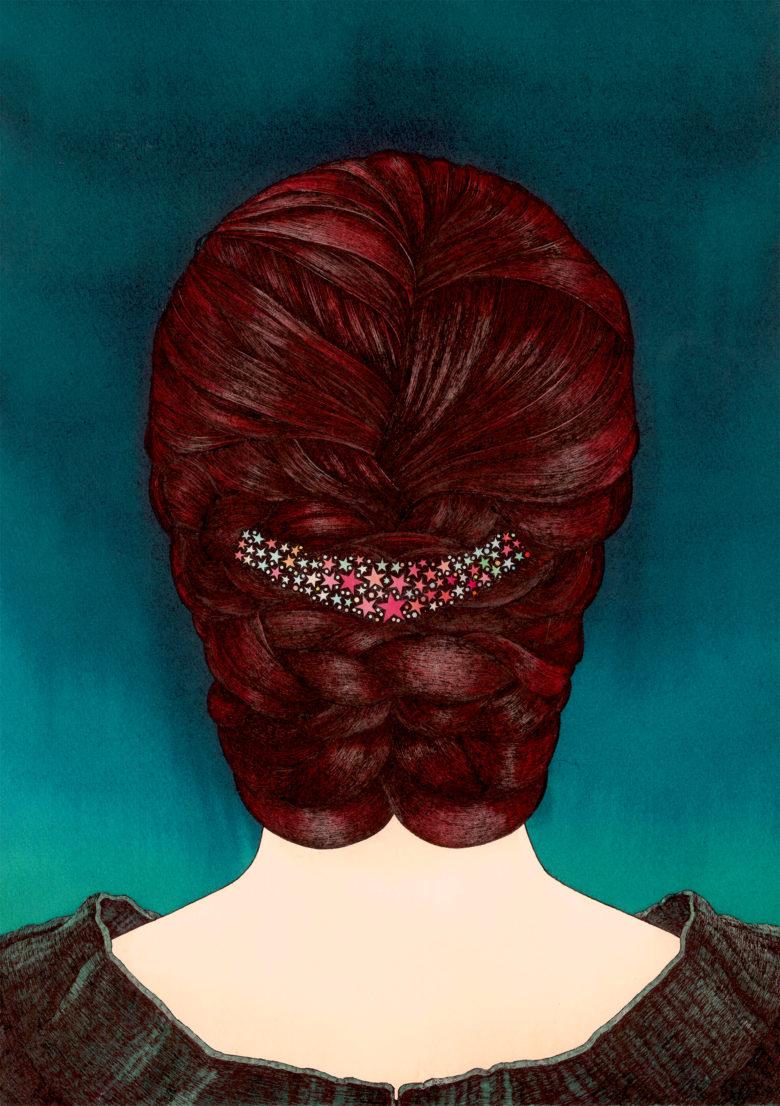 ニュクスの髪飾り 星々