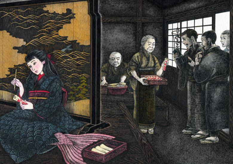『赤い蝋燭と人魚』 シーン3