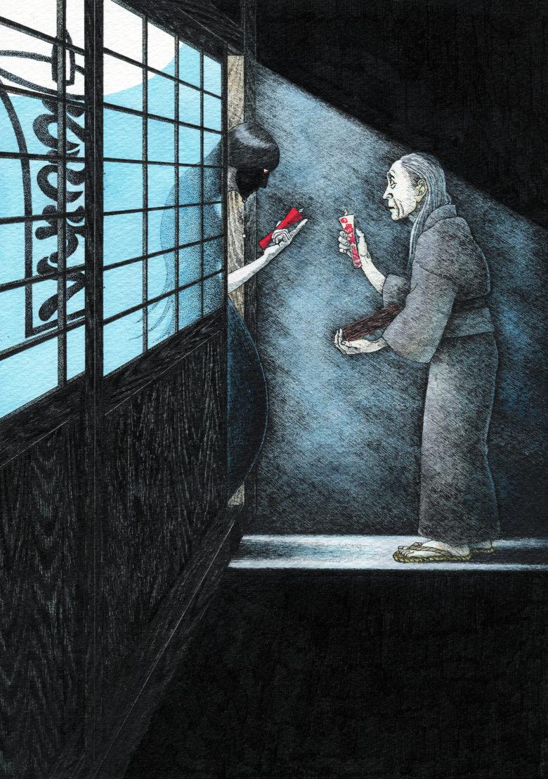 『赤い蝋燭と人魚』 シーン4