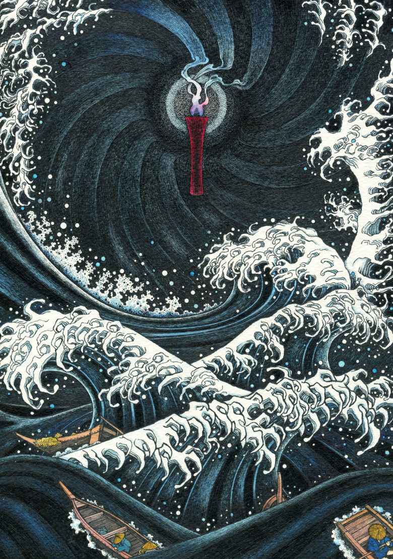 『赤い蝋燭と人魚』 シーン5