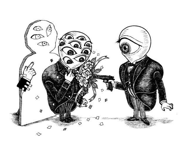 『あの出来事』チラシ用カット 「私を撃って