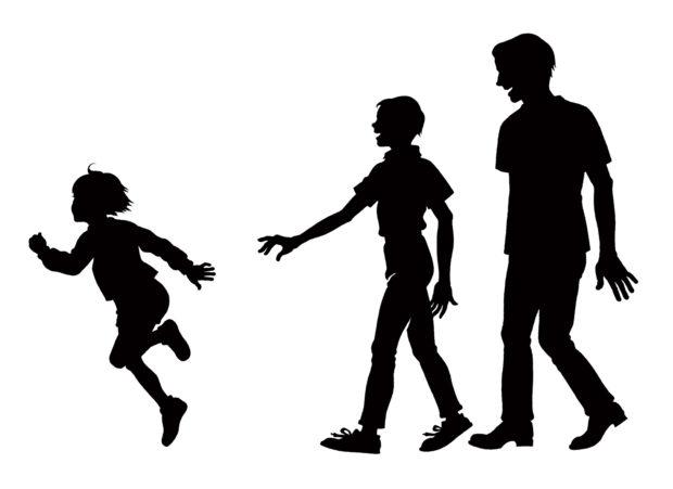 マーク「子どもも大人も一緒に楽しめる連続企画」
