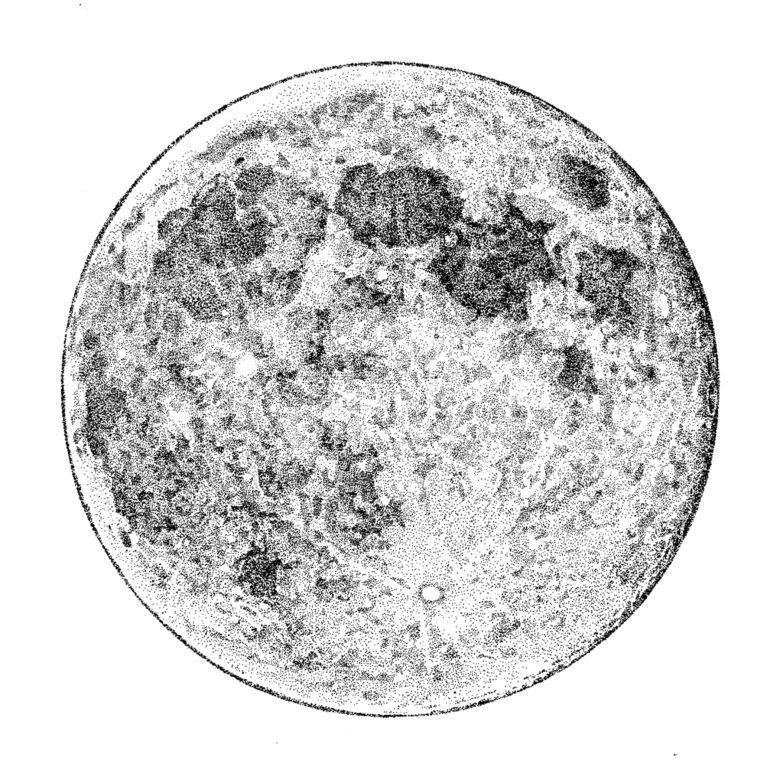 『斬られの仙太』 原画 満月