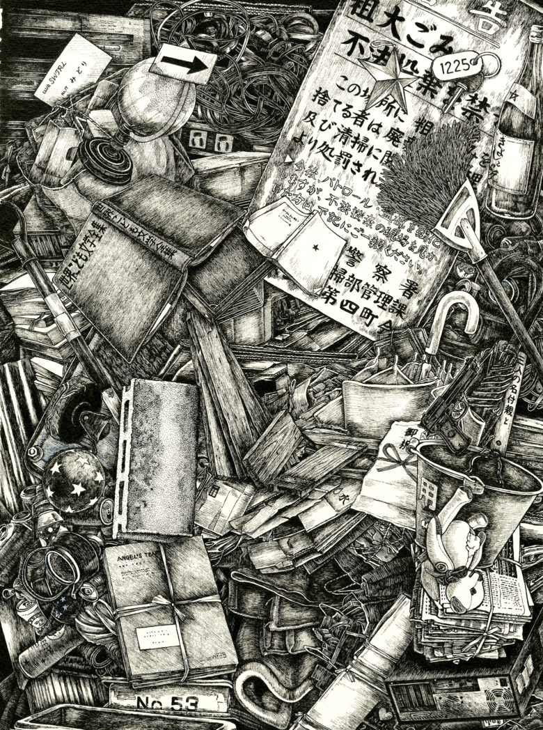 『東京ゴッドファーザーズ』 原画 ゴミ