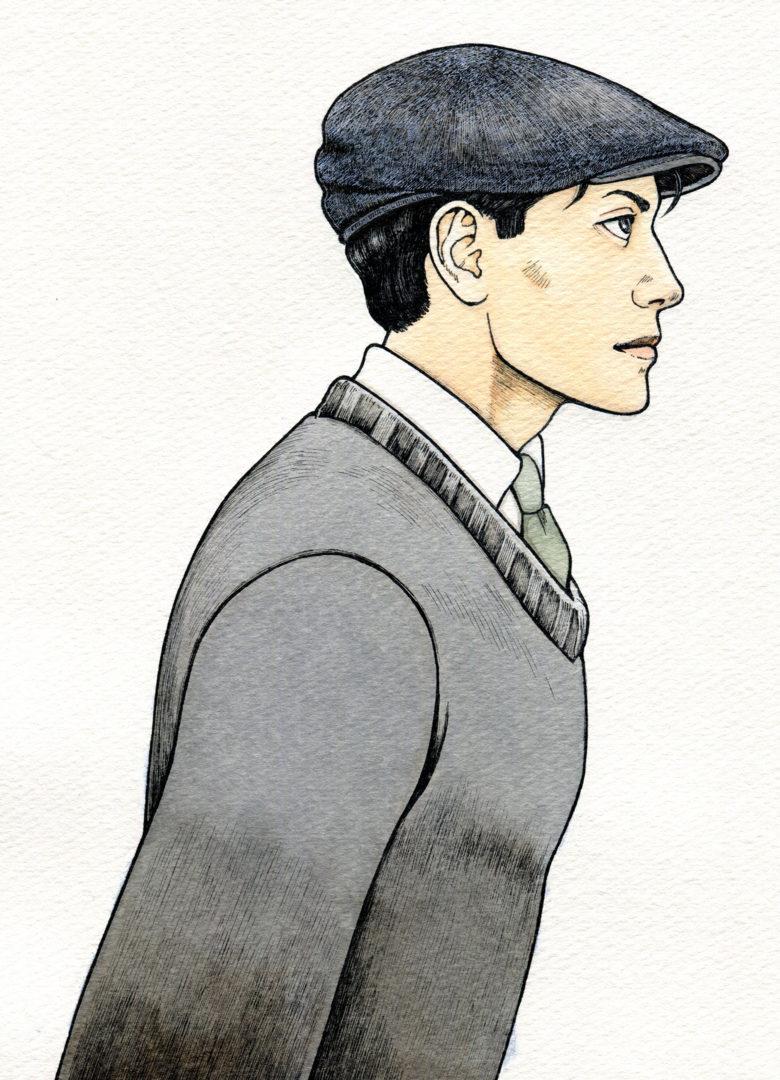 『キネマの天地』 原画 島田健二郎