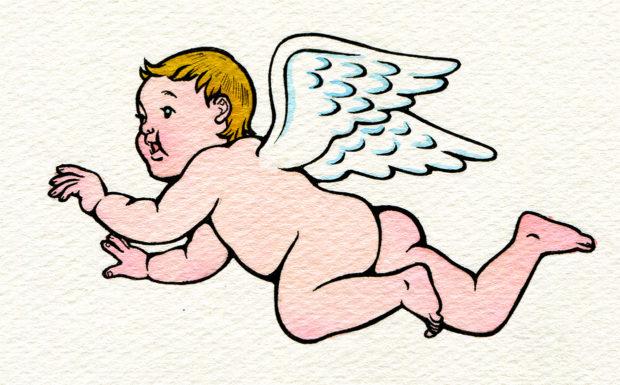 『キネマの天地』 原画 天使